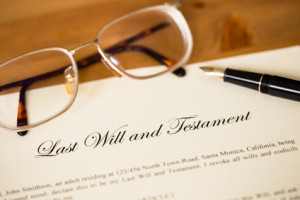 Probate of the Last will and Testament